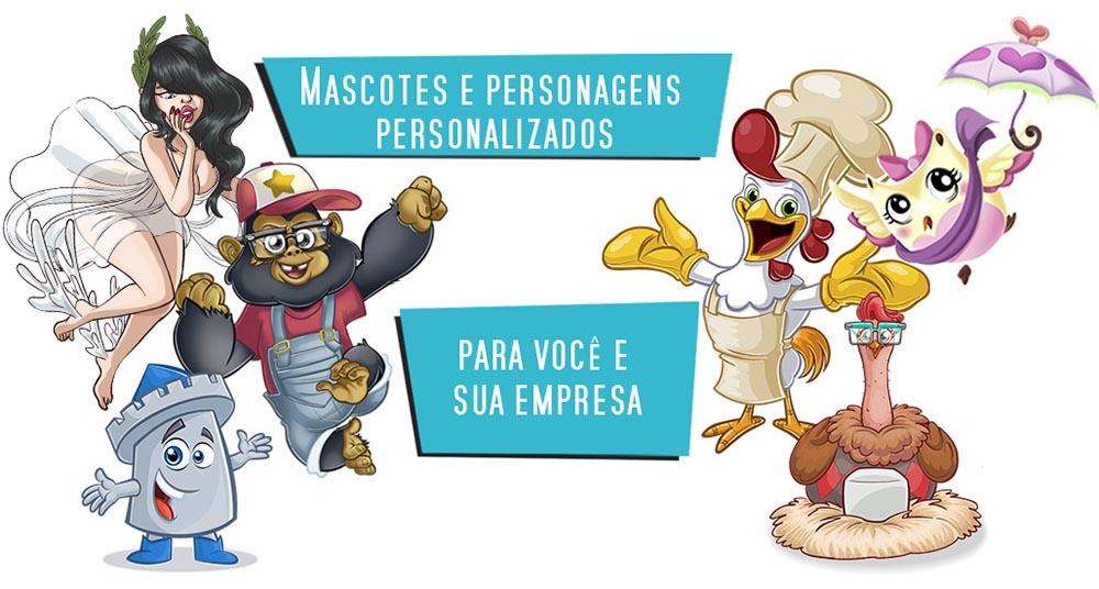 Personagens e mascotes animador 2d ilustrador2